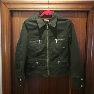 chaqueta mujer verde T42