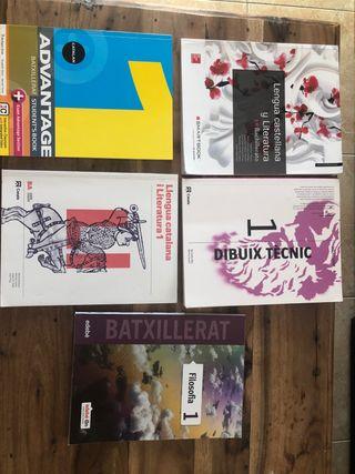 Libros 1o bachillerato artístico en catalán
