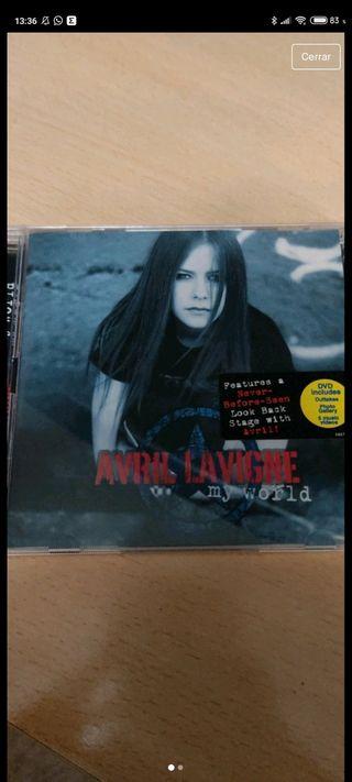 Avril Lavigne Myy world DVD