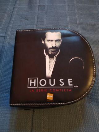Serie House Completa en DVD