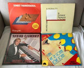 Lote vinilos música variada