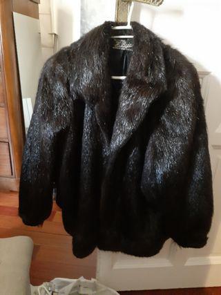 chaqueton de piel de Nutria