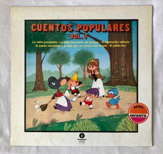 Disco de vinilo Cuentos Populares 3