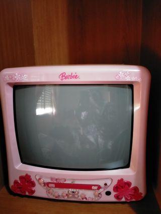 televisor rosa con dvd