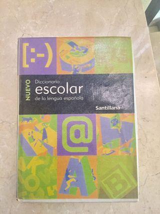 Diccionario escolar Santillana