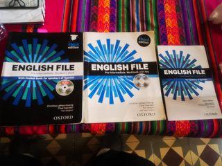 Libros inglés oxford Pre Intermediate