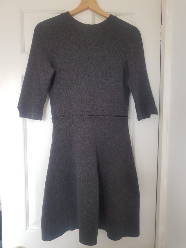 Zara Half Sleeved Wool Dress