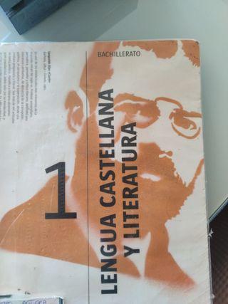 libro de lengua 1 de bachillerato editorial CASALS