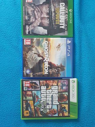 Videojuegos (Ps4, Xbox One, Xbox 360)