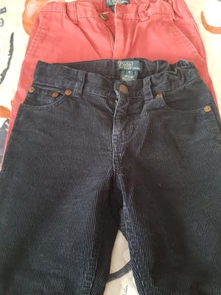 Lote de dos pantalones Ralph Lauren niño