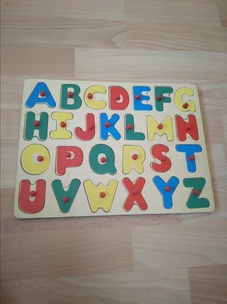 Puzzle madera Abecedario