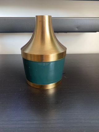 Candelabro - jarron decoración metal