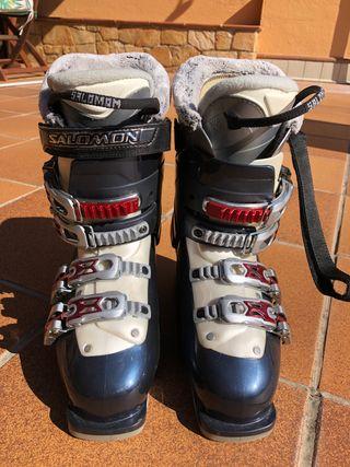 Botas de esquí chica/niña Salomon *NUEVAS*
