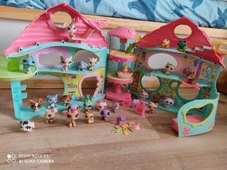 casita littlest pet shop con 25 myñecos