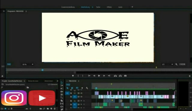 Video production, Video cut, Intro, Color Grading