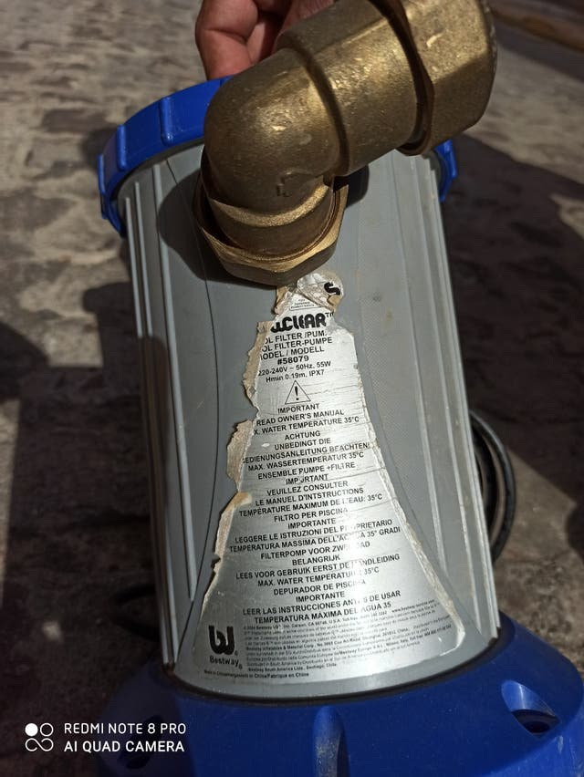 bomba de agua de una pulgada para piscinas 35 €