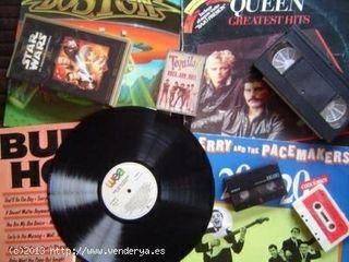 CONVERSION DE CASSETTES Y VINILOS A CD Y MP3
