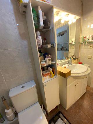 Armario - Estantería baño 30x30x170