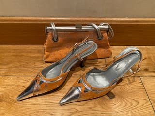 Conjunto zapatos + bolso - Talla 39