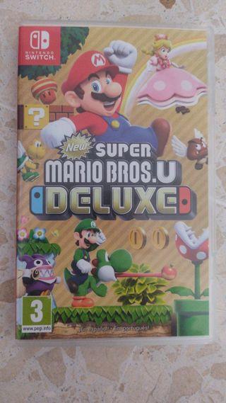super Mario u deluxe Nintendo switch