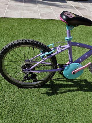 bicicleta de niña de 20