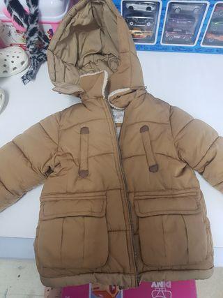 abrigo muy calentito