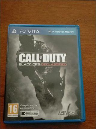 Juego PSVita Call of Duty Declassified