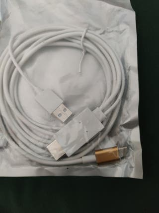 Cable HDMI a type C para movil