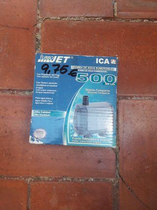 Bomba de agua sumergible 500Lt/h