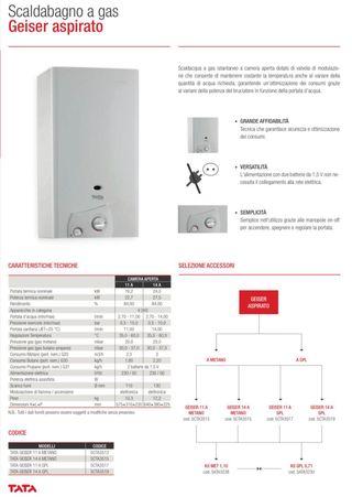 Calentador de agua gas de 14 litros