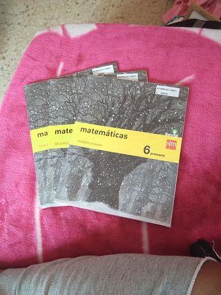 libros matemáticas 6 Primaria