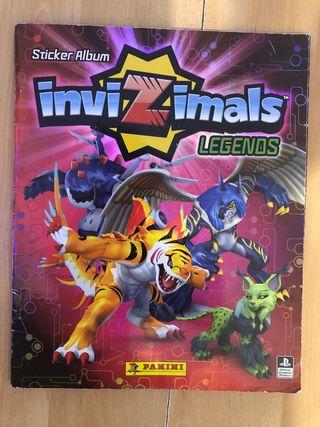 album invizimals Legends completo