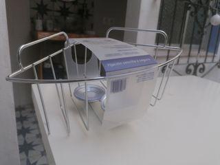 2 cestos esquineros baño
