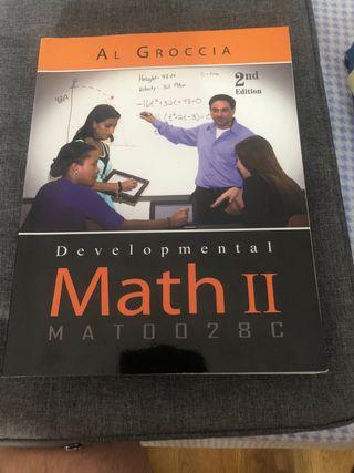 Pack de 3 libros de matematicas (English Version)