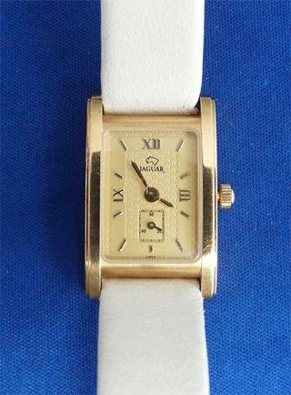Reloj dama Jaguar oro macizo 18K.