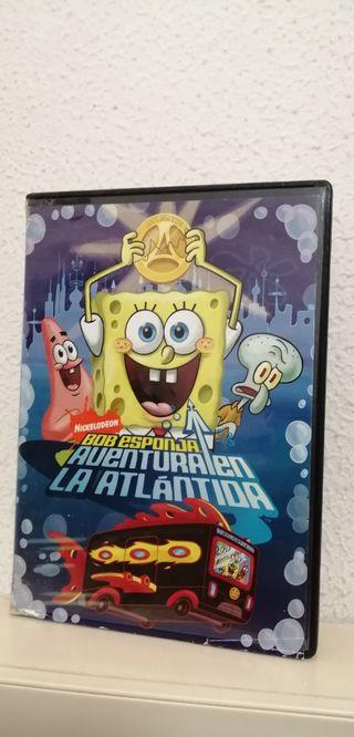 DVD Bob Esponja Aventura en la Atlantida