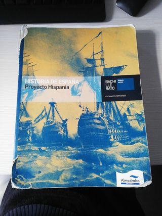 libro de historia de españa BACHILLERATO.