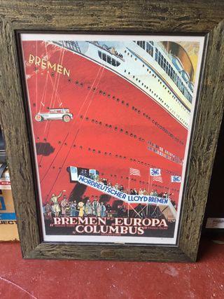 Cuadro del barco columbus