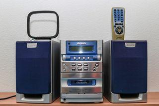 Radio, cassette y Cd - Aiwa LCX 337 - Funciona