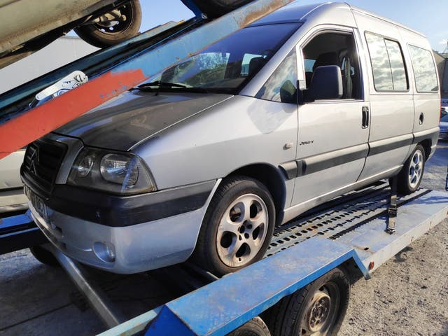 despiece Citroen jumpy 2004