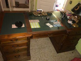 Mesa despacho estilo ingles