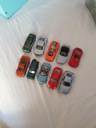 Lote 10 coches de juguete