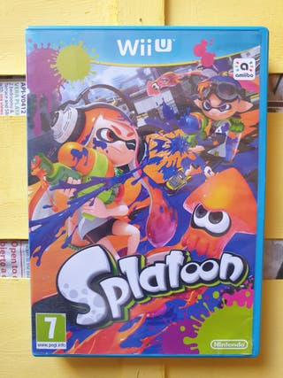SPLATOON WII-U