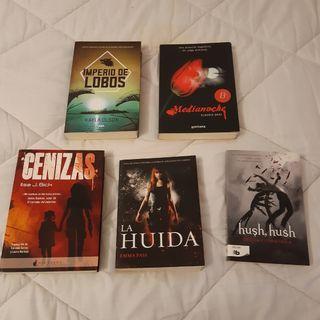 Lote de libros juveniles ciencia ficción, fantasia