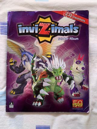 InviZimals Sticker Álbum