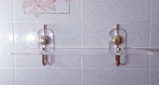 Espejo de baño + accesorios