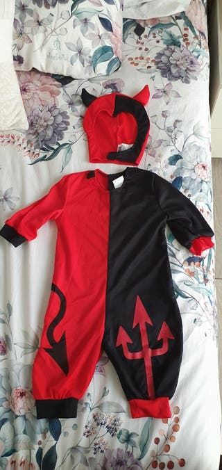 Disfraz Demonio Bebé 6 meses