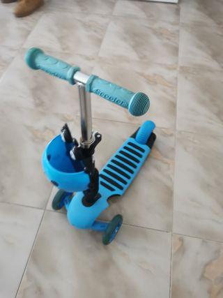 patinete scooter casi nuevo