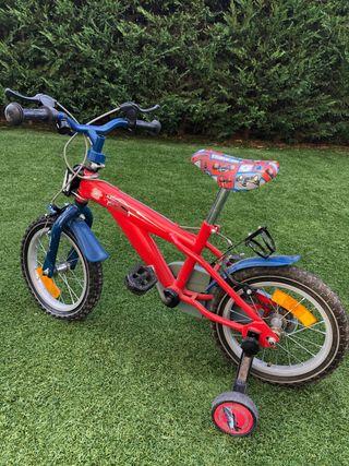 Bicicleta, rin 14'' niño