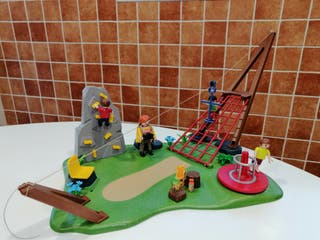 Playmobil parque infantil con tirolina 4015
